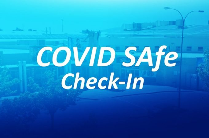 2020 Facebook cover STA Rplex blue Covid Safe Checkin